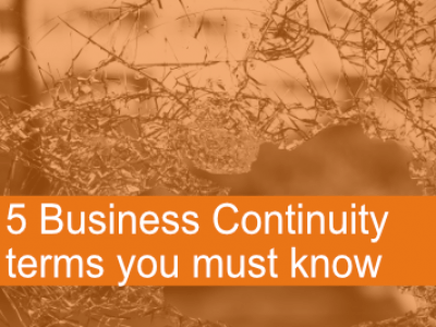 3 approaches to Business Continuity
