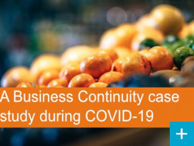 Case Study A retailer Business Continuity Management System