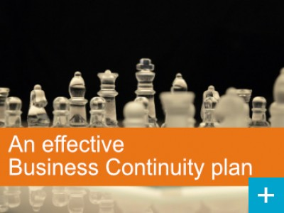 An effective Business Continuity Plan