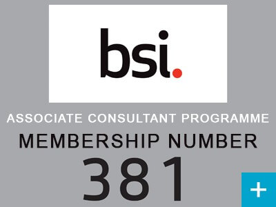 Spedan become BSi Group Associate ISO Consultants