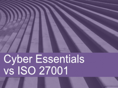 Comparing Cyber Essentials to ISO 27001