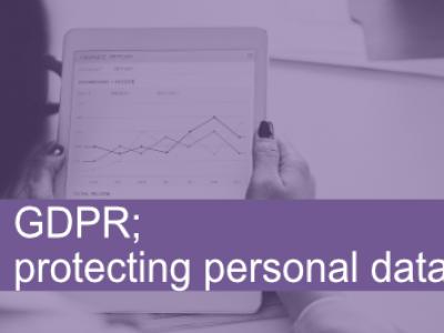 GDPR Protecting Personal Data