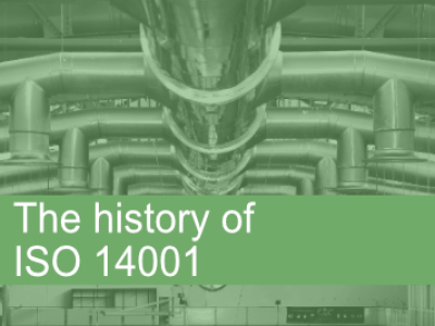 History of ISO 14001
