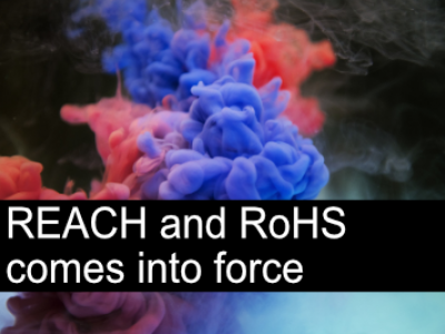 Updates to REACH and RoHS come into force