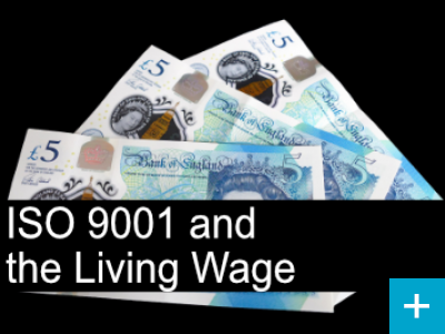 Why ISO system managers should take notice of the Living Wage