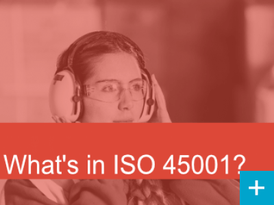 What's in ISO 45001