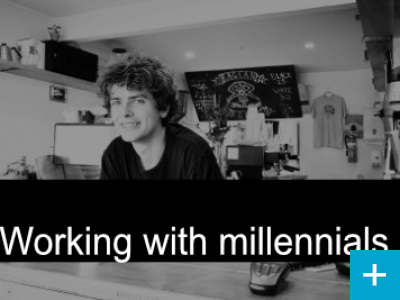 Opportunities of working with Millennials