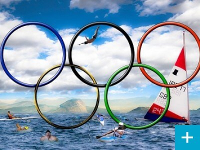 Are the Olympics in the poo